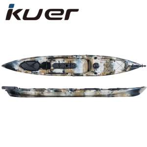 KUER 4.23M SOT Single Professional Fishing Kayak
