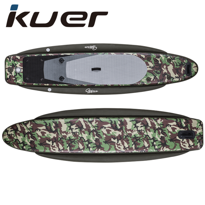 11′ Double layer Inflatable Fishing SUP Featured Image